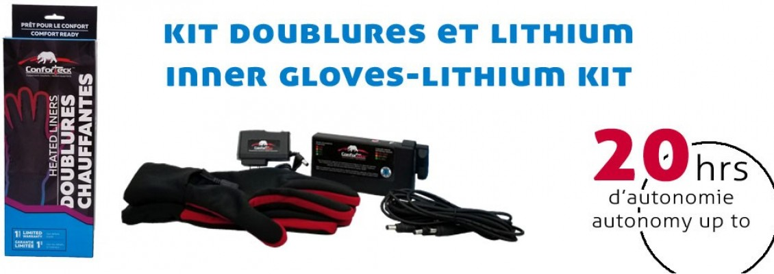 kit doublures et lithium