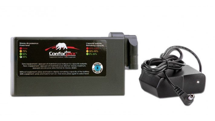 ConforTeck Lithium with integrated controller w/ charger