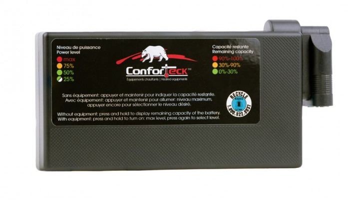 Conforteck lithium battery only