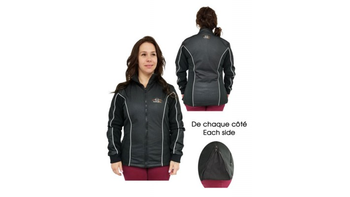 Unisex heated jacket liner